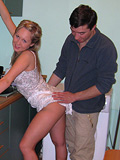 Teen girl with older lover. She is always at his dispossal